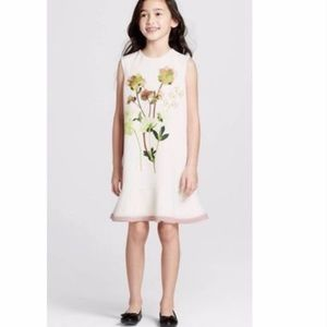 Victoria Beckham for target floral cream dress